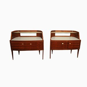 Mid-Century Modern Nightstands by Paolo Buffa, 1950s, Set of 2