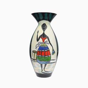 Mid-Century Italian Vase from Galvani Ceramica, 1950s