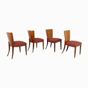Dining Chairs by Jindřich Halabala for UP Závody, 1940s, Set of 4