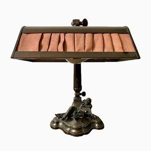 Antike Pierrot Tischlampe von DRMG