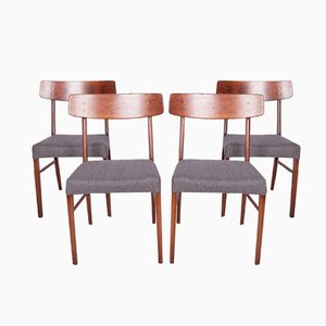 Mid-Century Danish Dining Chairs, 1960s, Set of 4