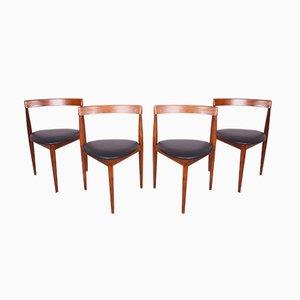 Chaises de Salon Compacte par Hans Olsen pour Frem Røjle, 1950s, Set de 4