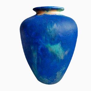Vaso in ceramica di Karlsruher Majolika, anni '50