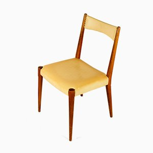 Mid-Century Modern Beech Dining Chairs by Anna-Lülja Praun for Wiesner-Hager, Austria, 1953, Set of 4