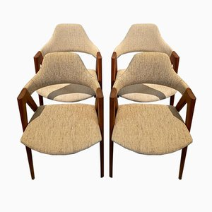 Compass Chairs by Kai Kristiansen for SVA Møbler, 1960s, Set of 4