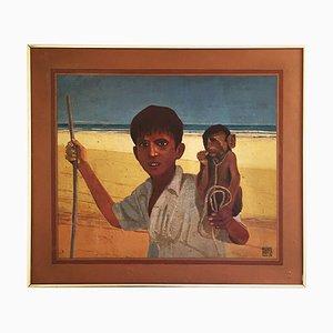 Arabesque Painting von Alan Healey, 1978