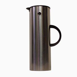 Caffettiera in acciaio inossidabile di Stelton, anni '60