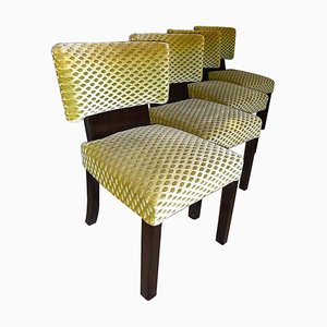Art Deco Dining Chairs by Bruno Paul, 1930s, Set of 4