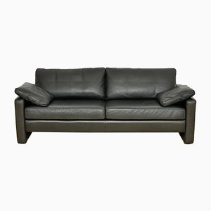 Mid-Century Leather Conseta 3-Seat Sofa by F. W. Möller for Cor, 1964