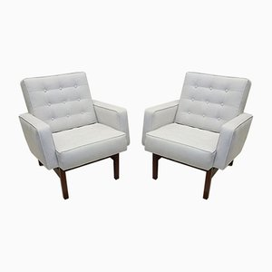 Easy Chairs Attributed to Florence Knoll Bassett for Knoll Inc. / Knoll International, 1940s, Set of 2