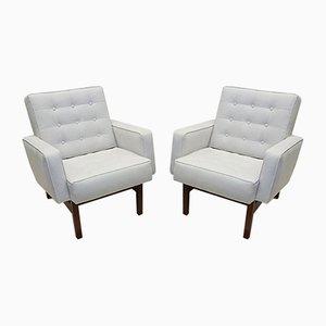Easy Chairs Florence Knoll Bassett für Knoll Inc. / Knoll International, 1940er, 2er Set