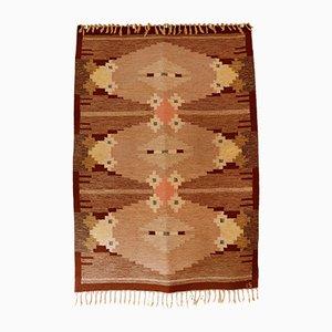 Rolakan Flatweave Carpet by Ingegerd Silow, 1960s