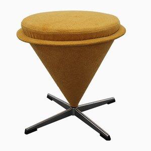 Mid-Century Cone Stool by Verner Panton, 1960s