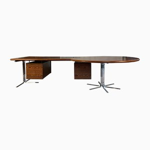 Italian Boomerang Executive Desk, 1970s