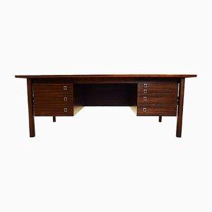 Großer Mid-Century Palisander Schreibtisch von Arne Vodder für Sibast, 1960er