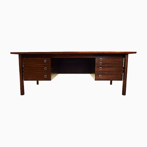 Large Mid-Century Rosewood Desk by Arne Vodder for Sibast, 1960s