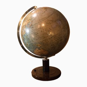 Large Glass Globe from Colombus, 1950s