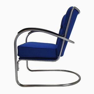 Mid-Century Model 412 Armchair by Willem Hendrik Gispen for Gispen, 1950s