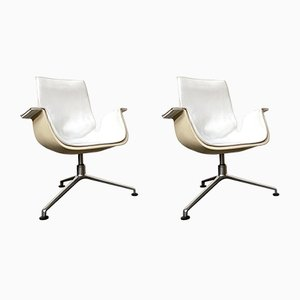 Tulip Lounge Chairs by Preben Fabricius & Jørgen Kastholm for Kill International, 1970s, Set of 2