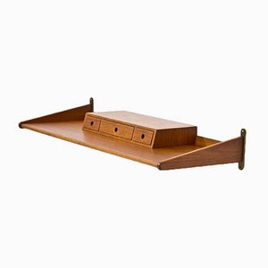 ST-106 Teak Wall Shelf by Figge Olsson, 1961