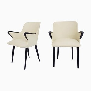 Small Armchairs by Osvaldo Borsani for Tecno, Italy, 1954, Set of 2