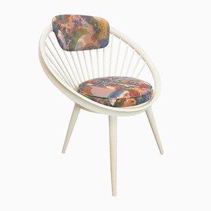 Vintage Circle Lounge Chair by Yngve Ekström for Gessef, 1960s