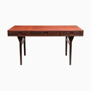 Rosewood Freestanding Desk by Nanna Ditzel, 1958