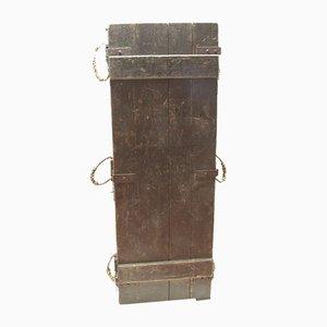 Antike Militärschläger-Truhe, 1900er