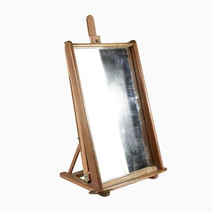 Mirror with Wooden Shelf, 1940s