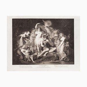Shakespeare's Midsummer-Night's Dream- Radierung-JP Simon Nach JH Fussli-1796 1796