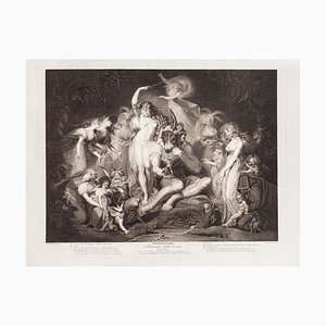 Shakespeare's Midsummer-Night's Dream- Etching-J.P. Simon After J.H. Fussli-1796 1796