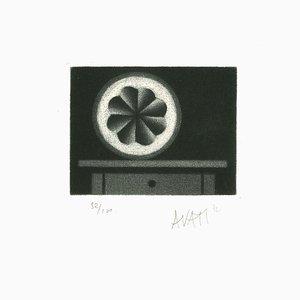 Lemon - Original Etching on Paper by Mario Avati - 1970s 1970s