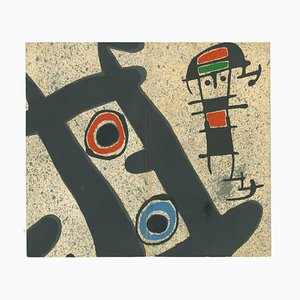 Berggruen Gallery Catalogue Cover - Lithograph by J. Mirò - 1970s 1970s