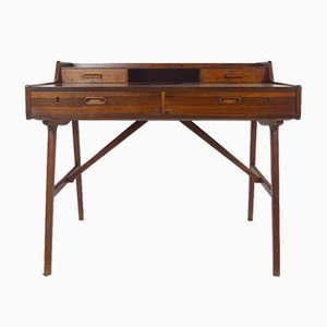 Rosewood Desk by Arne Wahl Iversen for Vinde Møbelfabrik, 1960s