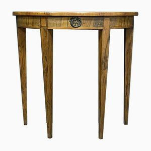 Louis XVI Antique Trolley in Walnut and Marquetry