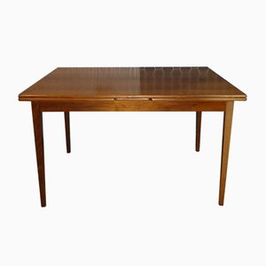 Large Mid-Century Extendable Dining Table