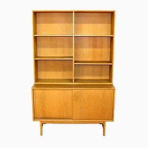 Swedish Oak Bookcase, 1960s