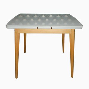 Mid-Century Formica Extendable Dining Table
