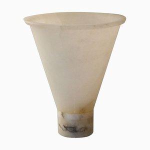 Alabaster Vase by Angelo Mangiarotti for Società Cooperativa Artieri dell'Alabastro di Volterra, 1980s