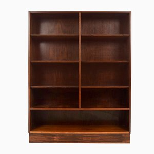 Modern Rosewood Double Bookcase by Poul Hundevad, Denmark, 1960s