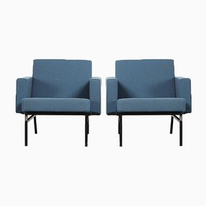 Mid-Century SZ34 Ijzendijke Lounge Chairs by Martin Visser for 't Spectrum, Set of 2