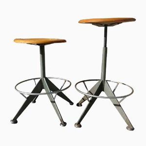 Stools from Odelberg & Olson, 1950s, Set of 2