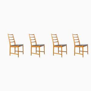 Danish Teak Dining Chairs from Slagelse Møbelværk, 1960s, Set of 4