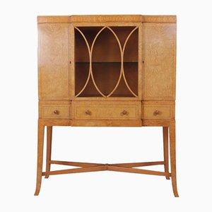Art Deco Burr Elm Cabinet