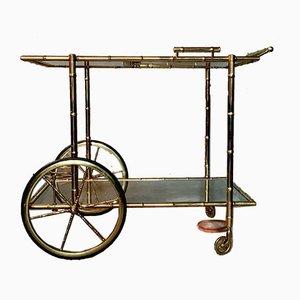 Vintage French Dessert Trolley or Bar Cart, 1930s