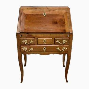 Kleiner Büroschreibtisch aus Birke im Louis XV Stil