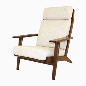 GE-290H Oak Armchair by Hans J.Wegner for Getama, 1960s