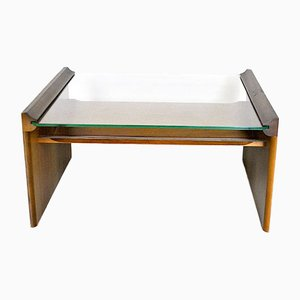 Acca Coffee Table with Magazine Rack by Kazuhide Takahama for Gavina, 1960s