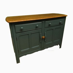 Blue-Painted Sideboard from Ercol, 1970s