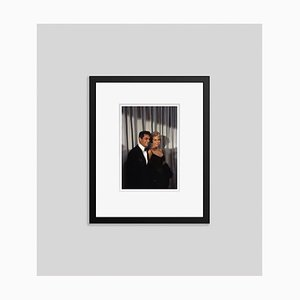 Curtis and Leigh Framed in Black by Bettmann